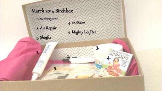 birchbox mar 1